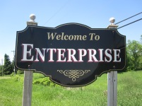 Welcome to the town of Enterprise!
