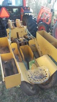 The mechanical tree planter