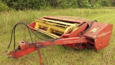 Equipment to harvest hay