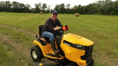 Our new Cub Cadet mower
