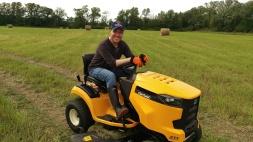 Our new Cub Cadet mower