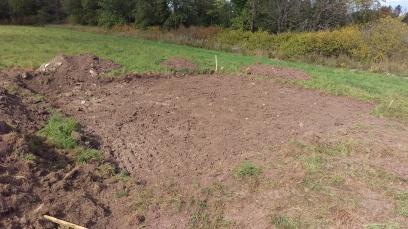 2 - Dug building footprint