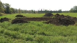 4 - Excavated building site