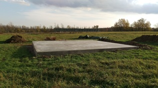 8 - Concrete poured