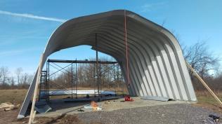 10 - Building takes shape