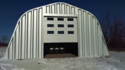 4 - Garage door installed